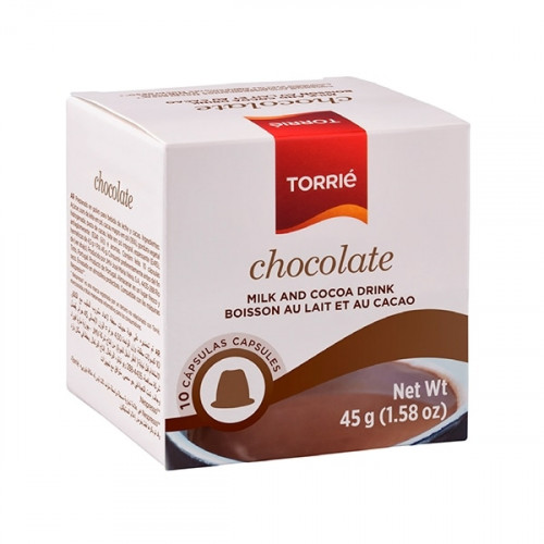Torrié Soluble Chocolate Nespresso Compatible 10 units