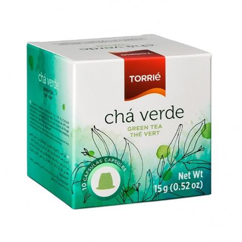 Torrié Té Verde Compatible con Nespresso 10 unidades