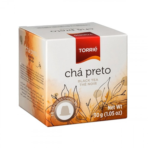 Torrié Té Negro Compatible con Nespresso 10 unidades