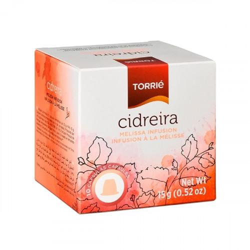 Torrié Té de Bálsamo de Limón Compatible con Nespresso 10 unidades