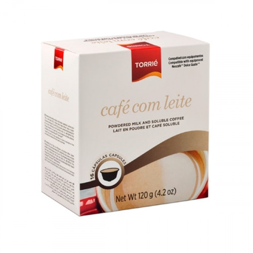 Torrié Soluble Coffee with Milk Dolce Gusto Compatible 16 units