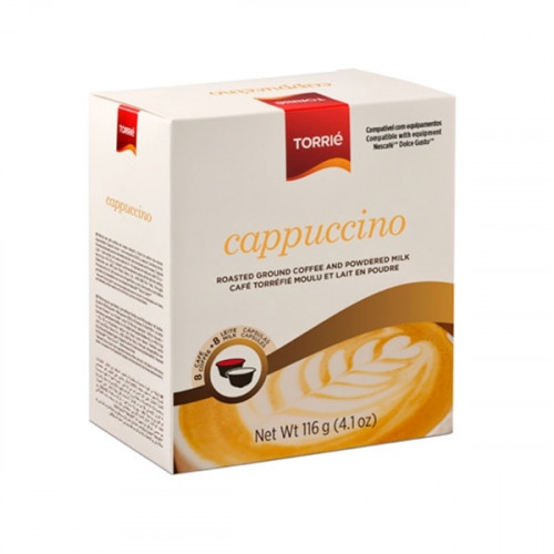 Torrié Cappuccino Compativel Dolce Gusto 16 unidades
