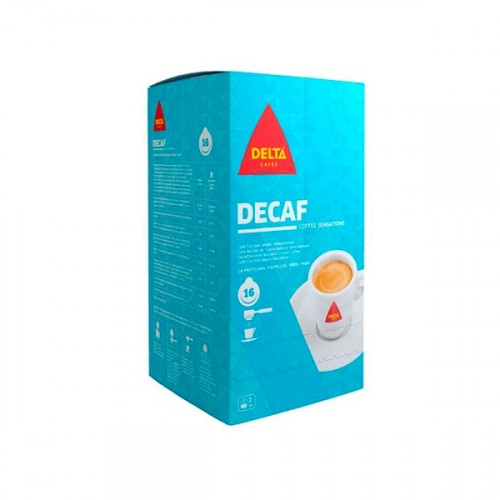 Delta Decaf Coffee Pods 75 units