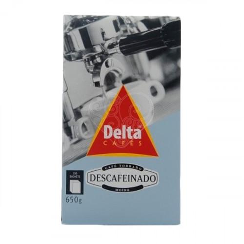 Delta Descafeinado Saquetas 100 unidades