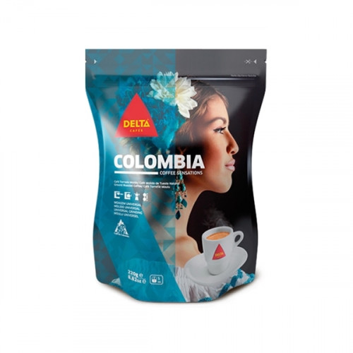 Delta Colombia Ground Coffee 220 grams
