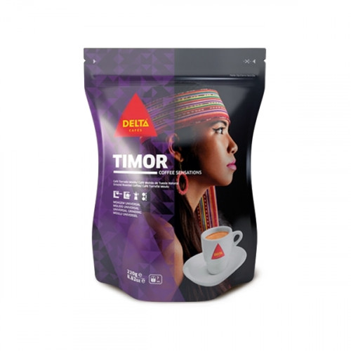 Delta Timor Ground Coffee 220 grams