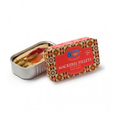 Briosa Gourmet Mackerel Fillets in Olive Oil with spices