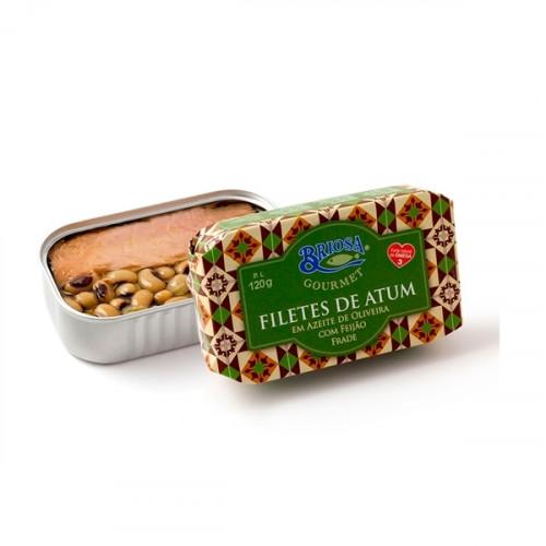 Briosa Gourmet Filetes de Atum em Azeite com Feijão Frade
