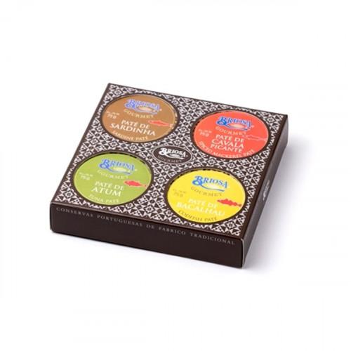 Briosa Gourmet Classic Pâté Box - 4 units