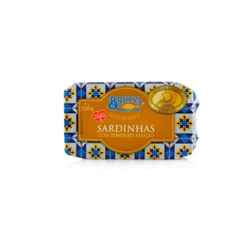 Briosa Gourmet Sardinhas em Pimento Assado