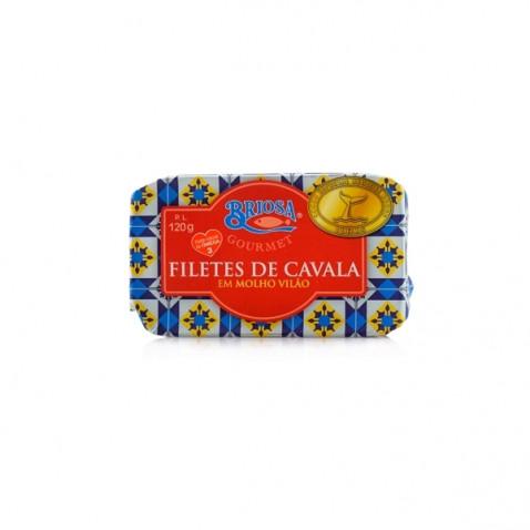 Briosa Gourmet Filetes de Caballa en Salsa Vilão