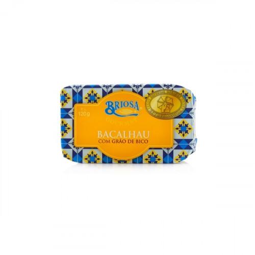 Briosa Gourmet Kabeljau mit Kichererbsen