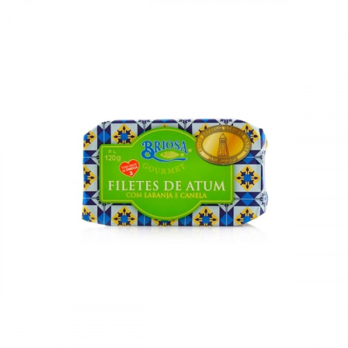 Briosa Gourmet Filetes de Atún con Naranja y Canela