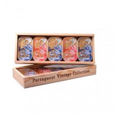 Porthos Wooden box with Tuna - 5 units