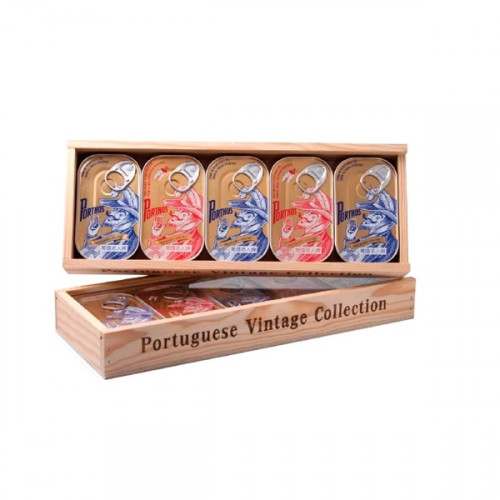 Porthos Wooden box with Tuna - 5 units