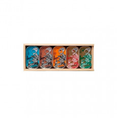 Porthos Wooden Mix Box - 5 units