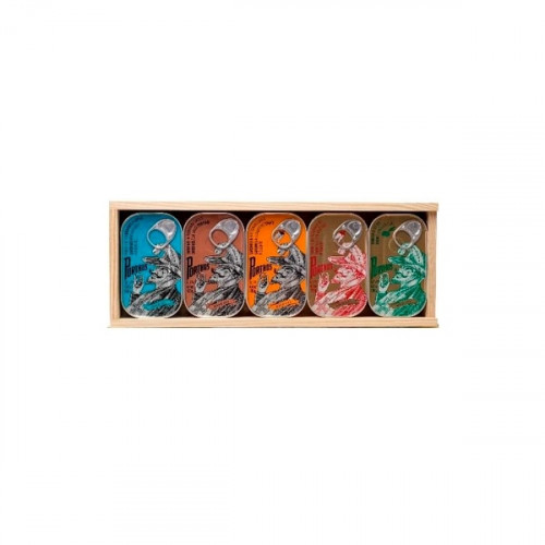 Porthos Wooden Mix Box - 5 units