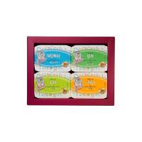 Dama Boîte de jade biologique - 4 unités