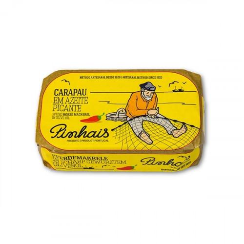 Pinhais Sugarello speziato in olio d'oliva