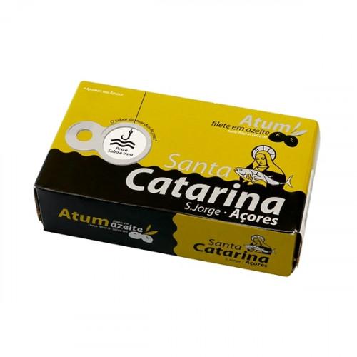 Santa Catarina Tuna Fillet in Olive Oil 120 g