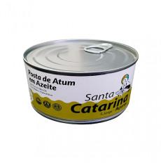 Santa Catarina Bistecca di tonno in olio d'oliva