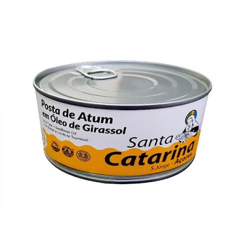 Santa Catarina Posta de Atum em Óleo de Girassol