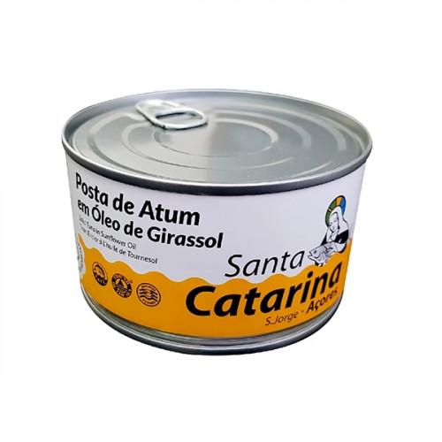 Santa Catarina Filete de atún en aceite de girasol 375 g