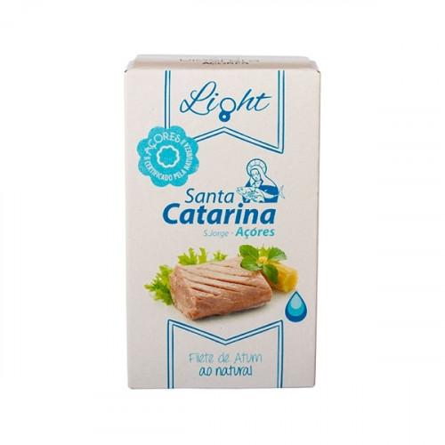 Santa Catarina Light Filete de atún en agua 120 g