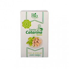 Santa Catarina Bio Steak de thon à l'huile d'olive biologique