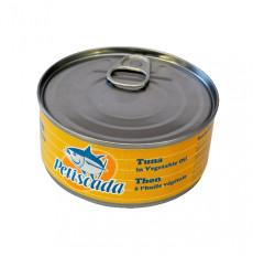 Petiscada Morceaux de thon à l'huile de tournesol