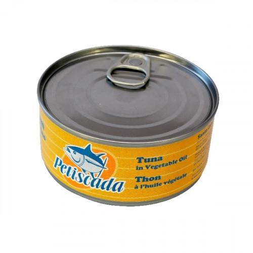 Petiscada Tuna Pieces in Sunflower Oil 160 g