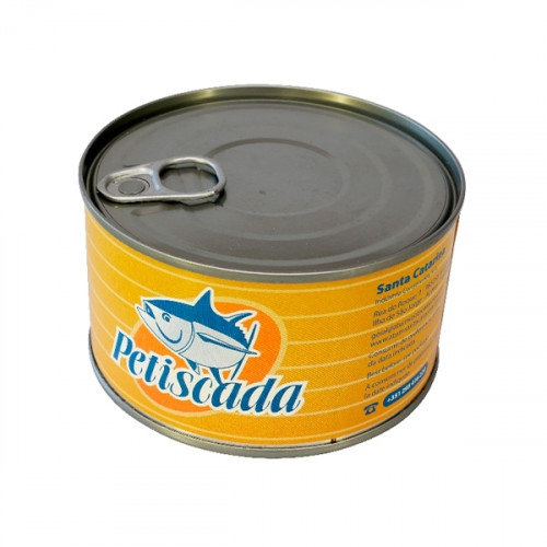 Petiscada Trozos de atún en aceite de girasol 375 g