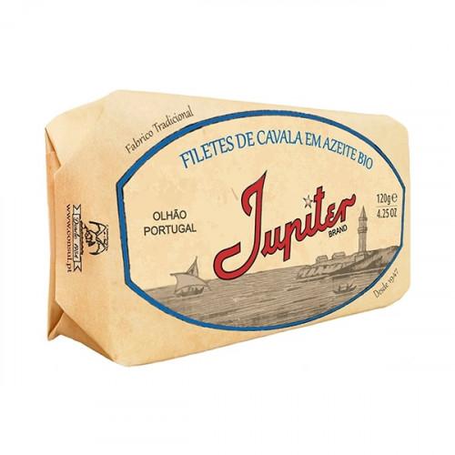 Jupiter Filets de maquereau à l'huile d'olive biologique