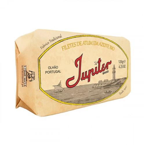 Jupiter Filets de thon à l'huile d'olive biologique