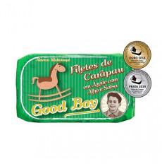 Good Boy Stöckerfilets in Olivenöl mit Knoblauch und Petersilie