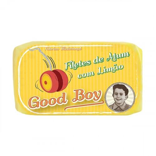 Good Boy Tuna Fillets in Olive Oil with Lemon