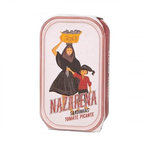 Nazarena Sardinas en Salsa de Tomate Picante