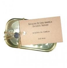 Nazarena Bacalao en Aceite de Oliva Trufado
