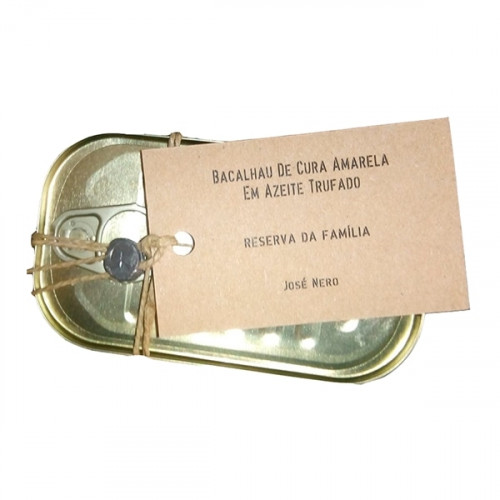 Nazarena Kabeljau in getrüffeltem Olivenöl