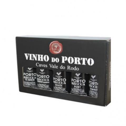 Réccua 5 Port Wines in premium case
