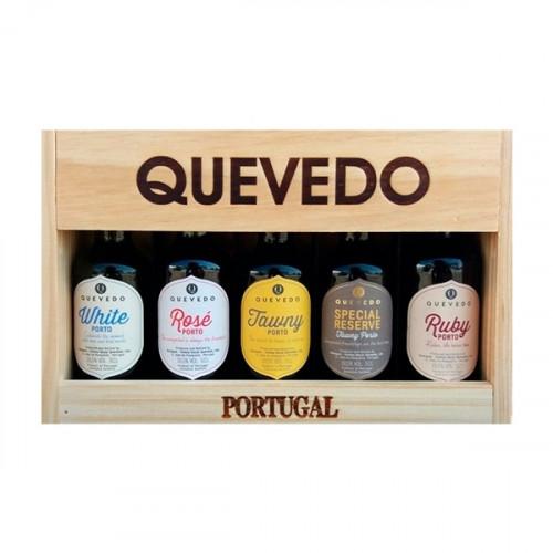 Quevedo 5 Portweine im Premium-Fall