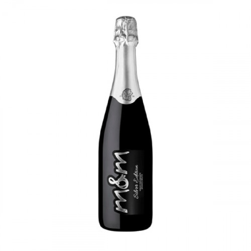 M&M Silver Edition White Brut Sparkling