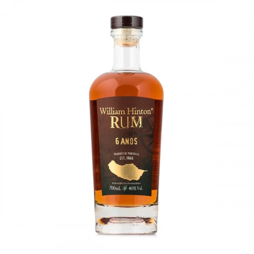 William Hinton Limited Edition 6 years Rum