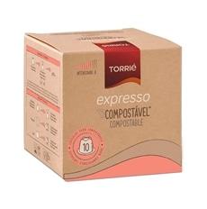 Torrié Expresso Compostável Nespresso Compatible 10 units - CJMV039