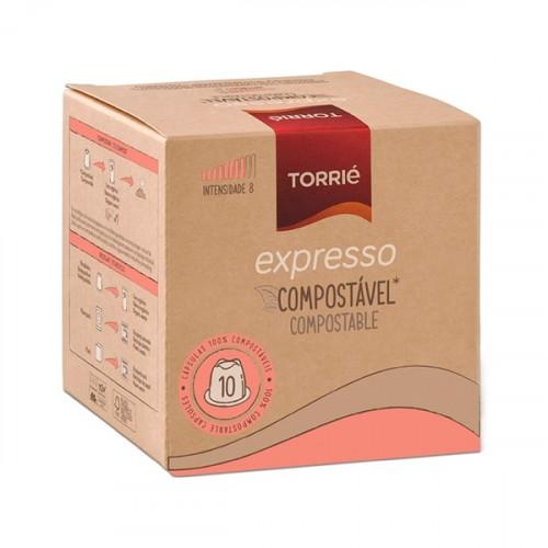 Torrié Expresso Compostável Compativel Nespresso 10 unidades