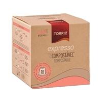 Torrié Expresso Compostável Compatible con Nespresso 10 unidades