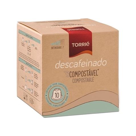 Torrié Decaf Compostável Compatible con Nespresso 10 unidades