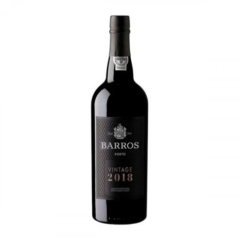 Barros Vintage Portwein 2018