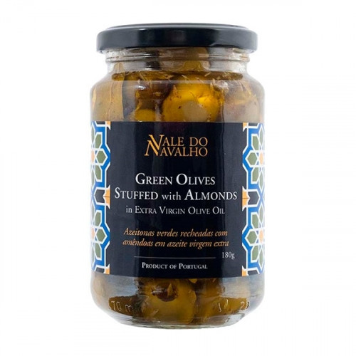 Vale do Navalho Green Olives Stuffed with Almonds 180 g