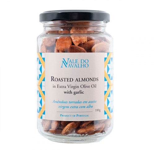 Vale do Navalho Roasted Almonds with Garlic